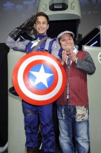 和製キャプテン・アメリカ誕生イベント画像